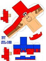Baby Mario Cubeecraft by Sil-160
