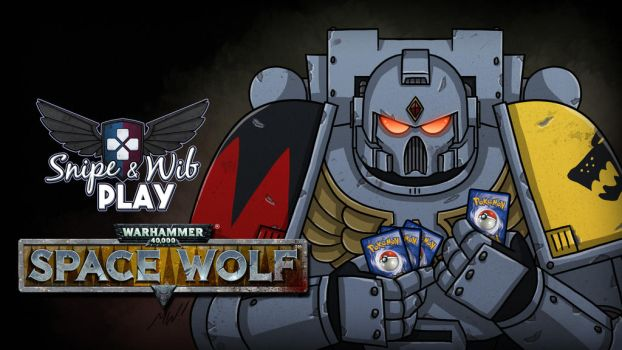 Space Wolf Title Card by wibblethefish