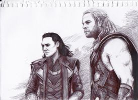 Thor: The Dark World by VivienHorvath