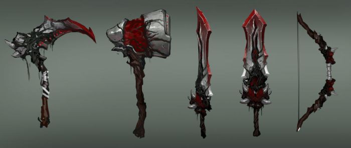 Corrupt Weapon Concepts by jeffchendesigns
