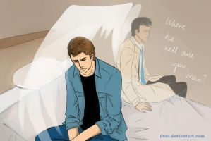Destiel 8x16 by Dver