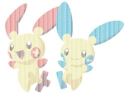 Plusle-and-minun-typo by Societys-Typo