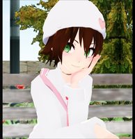 [MMD] Patiently waiting... by SapphireRose-chan