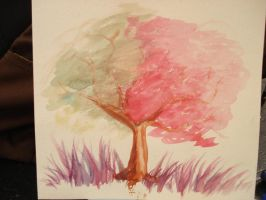 Tree by myriamelle