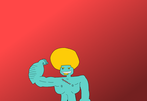 Week of 7 Day 5: Check out these guns! by Ask-The-Great-Kazaa