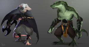 Kobolds by Artsed