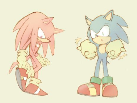 Sonic and Knuckles Switch by sujinee