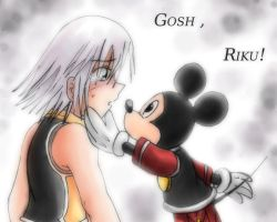 Gosh,Riku by Vulpeca