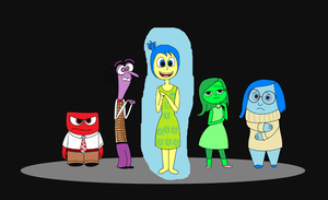 Disney Pixar - Inside Out by kbinitiald
