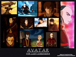 Zuko from Avatar by BellaTytus