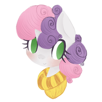 Sweetie Belle by grandifloru
