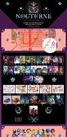 Japan Expo 2016 Nocturne product list by mariposa-nocturna