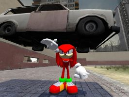 Strong Knuckles... by GlitchyProductions