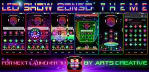 Next Launcher 3D Theme Led Show v1.6 by ArtsCreativeGroup