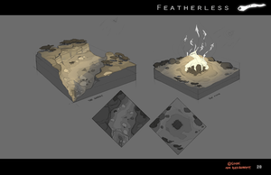 Featherless: Environment Studies by Silvac