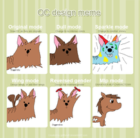 Design Meme (FINISHED) by CartoonsandMonsters