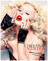 Colorize Christina Aguilera 2 by shad-designs