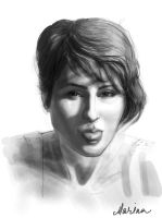 Sketched-selfportrait by Marina13m