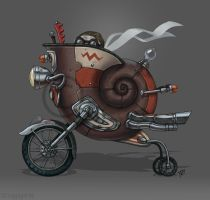 Snail'mobile by VisionCrafter