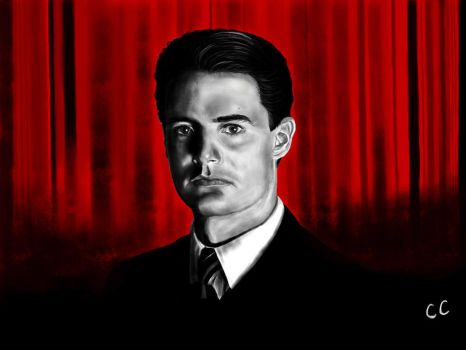 Dale Cooper by backtotheheART