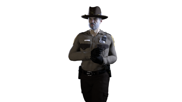 Sheriff Jeremiah Drake by Wendy-The-Red