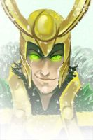 Loki Speedpaint by skardash