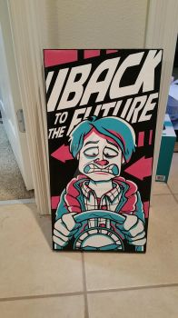 Marty of Back to the Future by cgianelloni