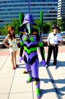 Otakon 2011 Eva by DarkGyraen