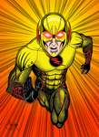 Reverse Flash Colored by eMokid64