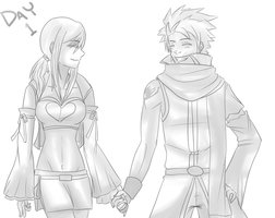 30 Day OTP Challenge day 1 : Hand Holding by PeppermintBat