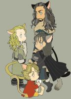 The Hobbit 14+15+16 by matsutakedo