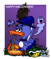 Chuck and Mike - Happy Halloween! by michaelheuvel