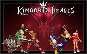 Kingdom Hearts by freyaka