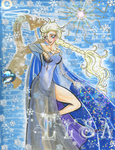 FROZEN Elsa Holds the Keys to Anna's Heart by alaer