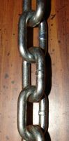 Steel Metal Chain 2 by FantasyStock