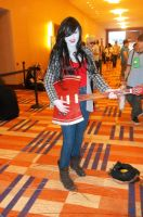 Marceline the Vampire Queen cosplay at Otakon 2012 by ShizNat4EVER