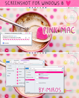 Screenshot PINK MAC for w8 by craftingandmore