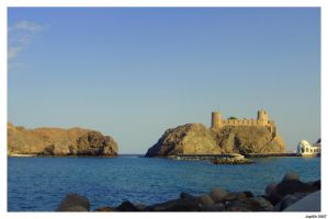 Castle on the Sea by Jupit3r