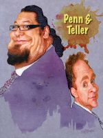 Penn And Teller by wooden-horse