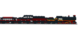 Lego Trains: Express Trains 3 by Shadow20X6