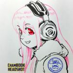 ChamBOOK Headshot - Super Sonico + video link by theCHAMBA