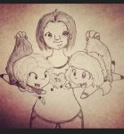 Kylie and her munchkins by jennett07