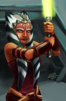 Ahsoka Tano by sempernow