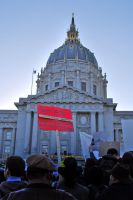 March 4 Protest - SF 2 by IllusionsGlade