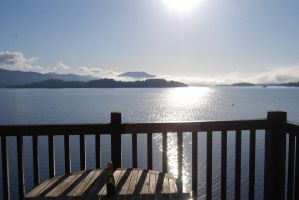 Balcony View over Loch Lomond by mr-macd