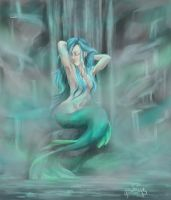 Mermaid Lagoon by arillia13