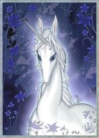 Last Unicorn Closeup by StellaB