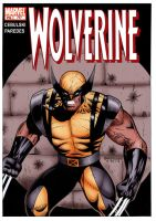 Wolverine Colored Cover by gioparedes