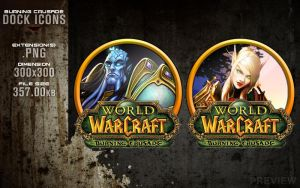 Burning Crusade Dock Icons by i2eflux