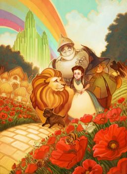 The Wizard of Oz by RebeccaSorge